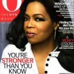 "Magazine Cover Design (Mimicking ""O"" Magazine)"