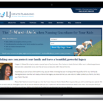 California Estate Planning Website Design